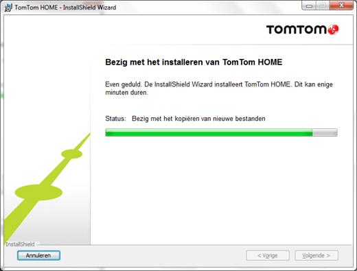 TomTom Home installeren