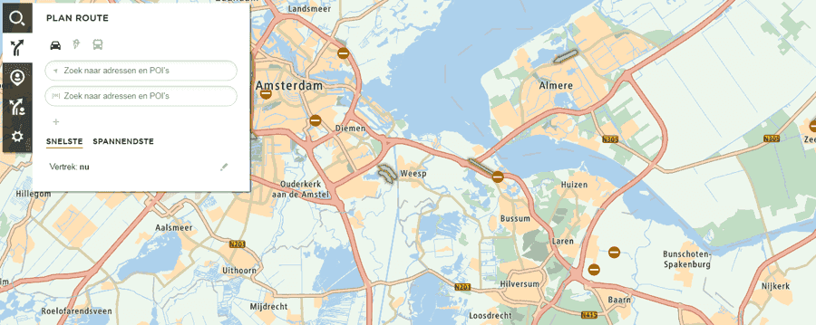 TomTom Routeplanner