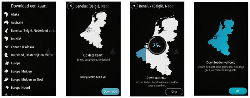 TomTom Go Mobile - Kaarten downloaden