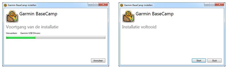 Garmin BaseCamp installeren